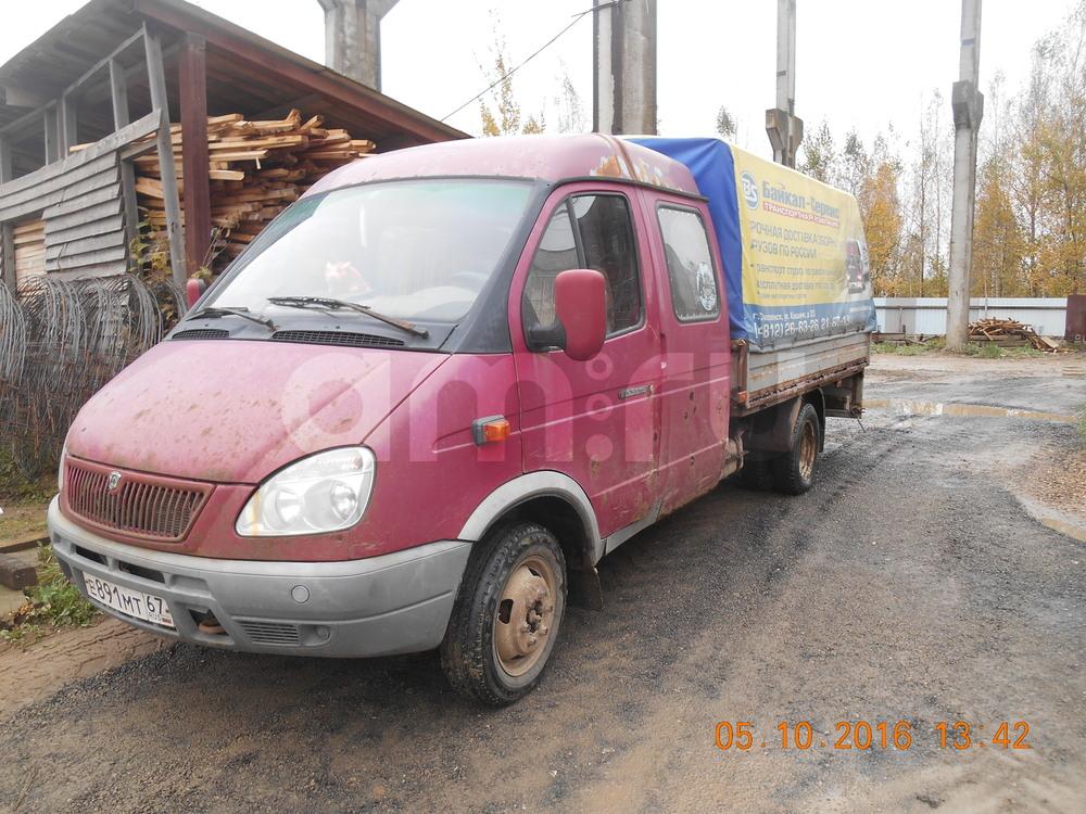 Подержанный ГАЗ Газель, хорошее состояние, красный , 2007 года выпуска, цена 240 000 руб. в Смоленской области