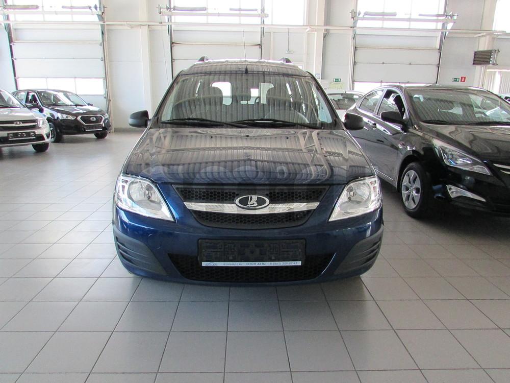 ВАЗ (Lada) Largus с пробегом, синий , отличное состояние, 2016 года выпуска, цена 566 000 руб. в автосалоне  ()