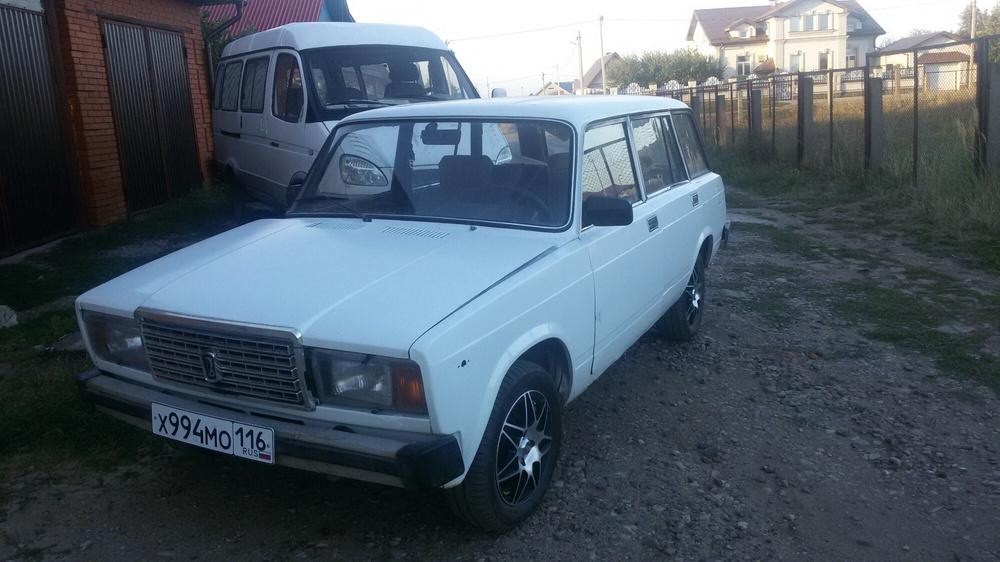 Подержанный ВАЗ (Lada) 2104, хорошее состояние, белый , 1995 года выпуска, цена 35 000 руб. в республике Татарстане