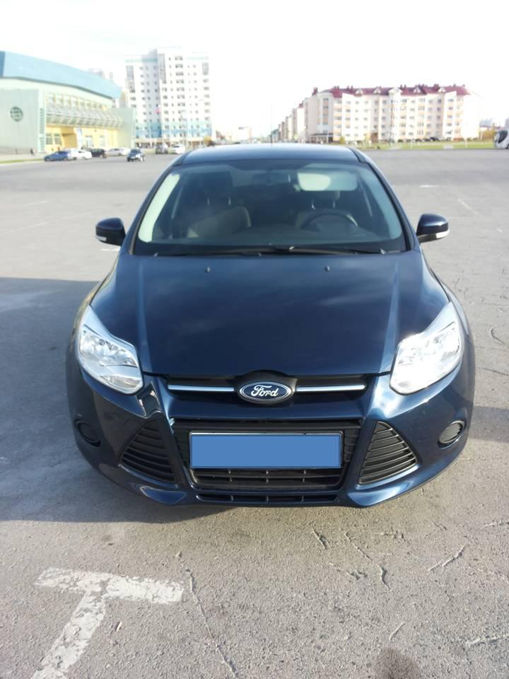 Подержанный Ford Focus, отличное состояние, синий , 2012 года выпуска, цена 650 000 руб. в ао. Ханты-Мансийском Автономном округе - Югре