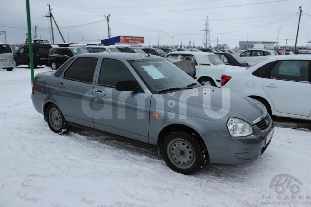 ВАЗ (Lada) Priora с пробегом, серый , отличное состояние, 2012 года выпуска, цена 275 000 руб. в автосалоне Автомобильная Ярмарка (Тюмень, ул. Пермякова, д. 85)