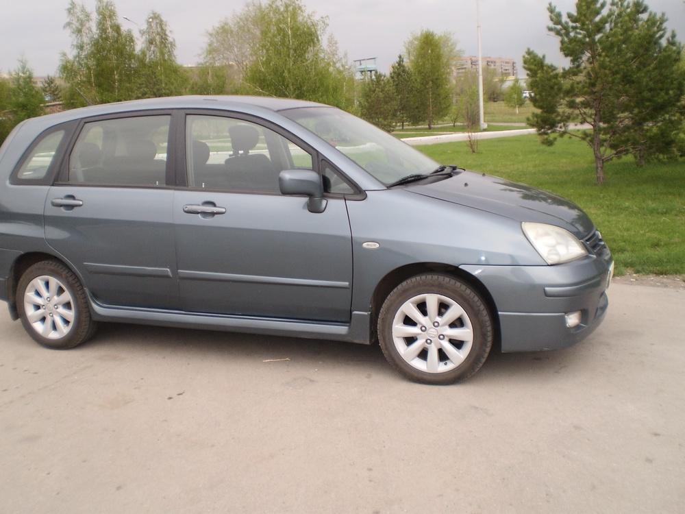 Подержанный Suzuki Liana, отличное состояние, серый металлик, 2005 года выпуска, цена 297 000 руб. в Челябинской области