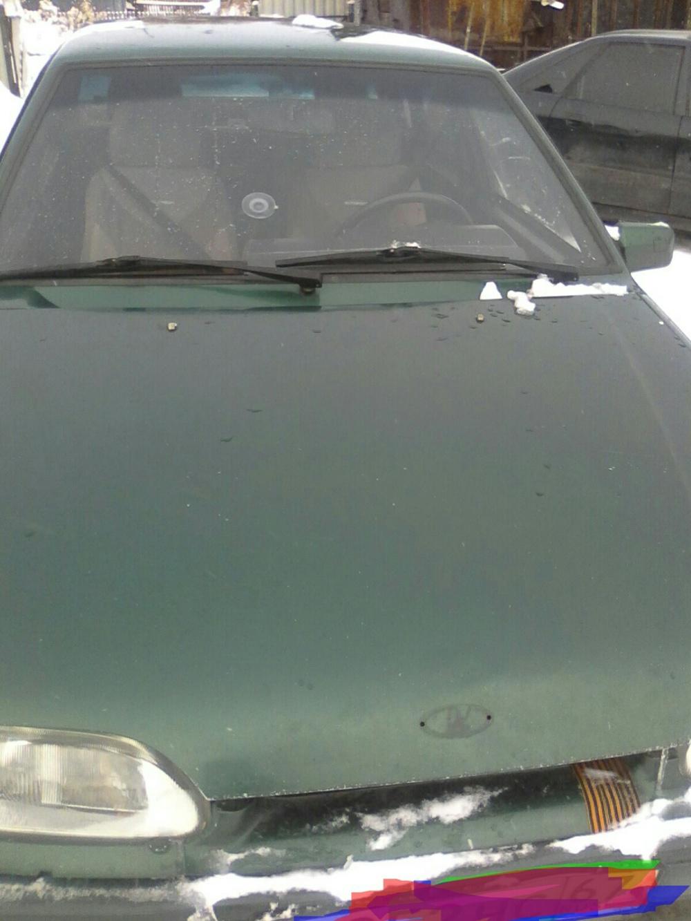 Подержанный ВАЗ (Lada) 2115, хорошее состояние, зеленый металлик, 1999 года выпуска, цена 40 000 руб. в Смоленской области