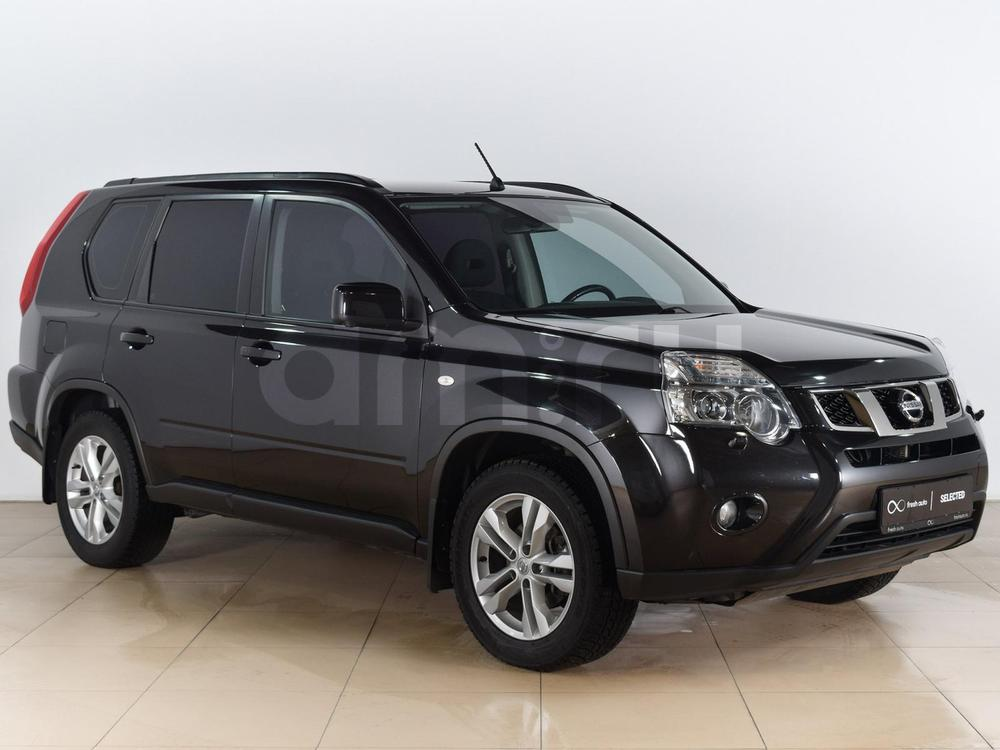 Nissan X-Trail с пробегом, черный металлик, отличное состояние, 2013 года выпуска, цена 1 179 000 руб. в автосалоне  ()