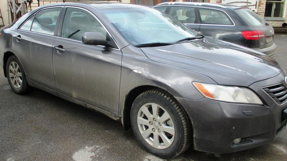 Подержанный Toyota Camry, отличное состояние, серый металлик, 2006 года выпуска, цена 620 000 руб. в Челябинской области