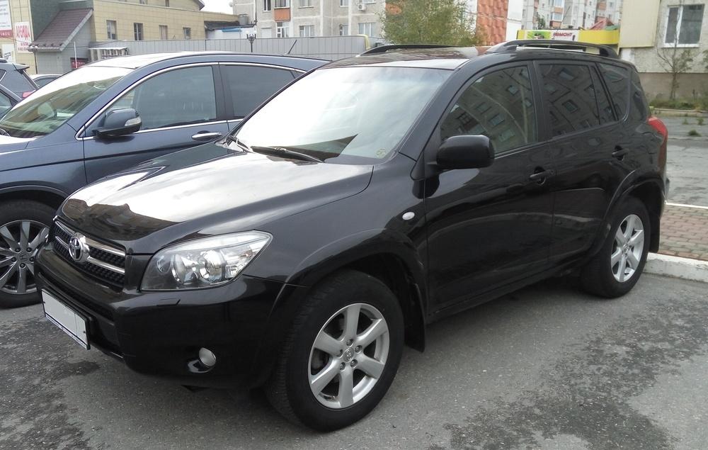 Подержанный Toyota RAV4, хорошее состояние, черный , 2007 года выпуска, цена 750 000 руб. в ао. Ханты-Мансийском Автономном округе - Югре