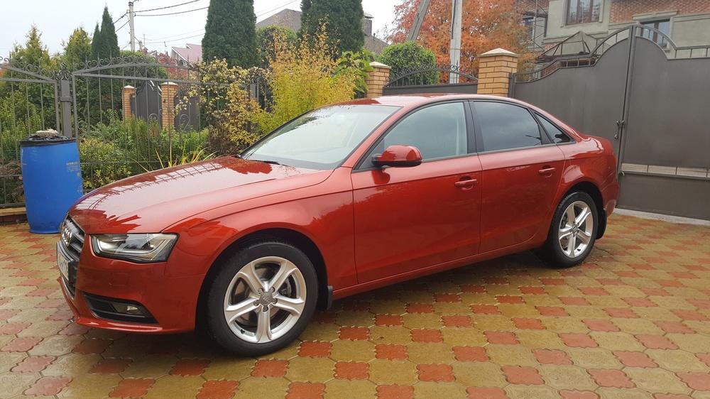 Подержанный Audi A4, отличное состояние, красный , 2013 года выпуска, цена 1 300 000 руб. в республике Татарстане