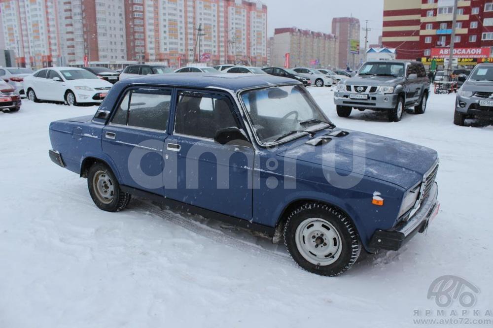 ВАЗ (Lada) 2107 с пробегом, синий , хорошее состояние, 2006 года выпуска, цена 75 000 руб. в автосалоне  ()