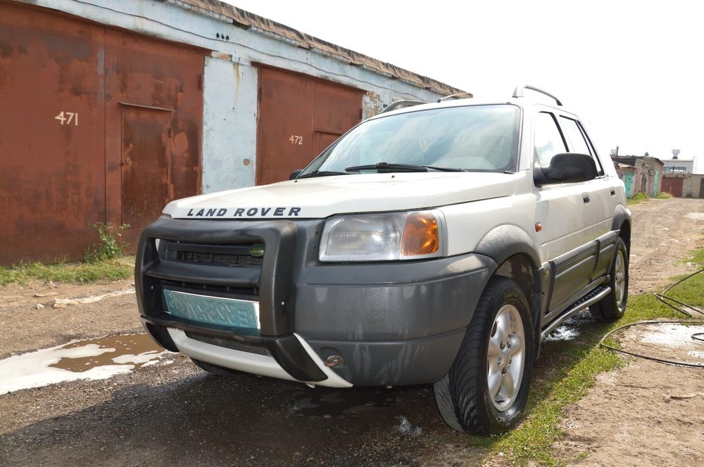 Подержанный Land Rover Freelander, отличное состояние, белый , 2001 года выпуска, цена 370 000 руб. в республике Татарстане