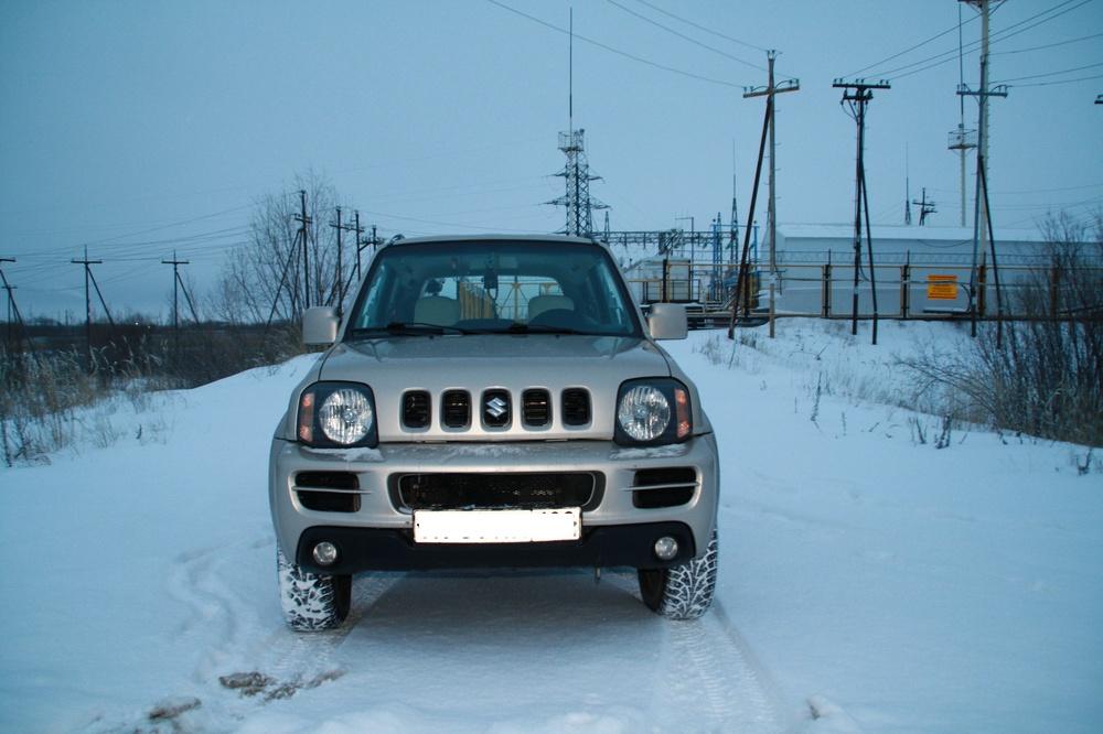 Подержанный Suzuki Jimny, отличное состояние, бежевый , 2007 года выпуска, цена 470 000 руб. в ао. Ханты-Мансийском Автономном округе - Югре