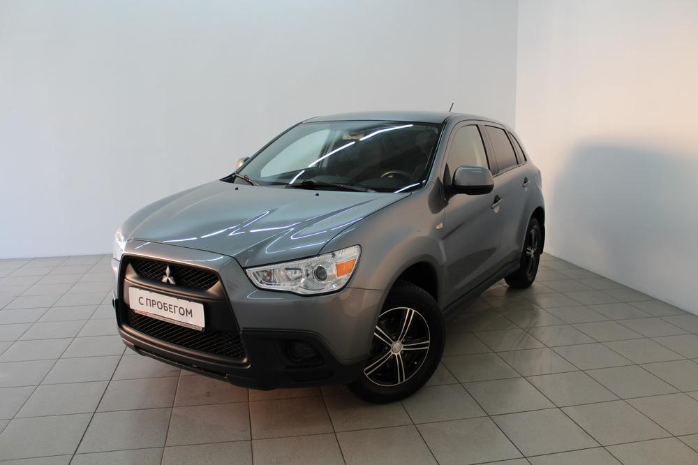 Mitsubishi ASX с пробегом, серый , хорошее состояние, 2012 года выпуска, цена 730 000 руб. в автосалоне  ()