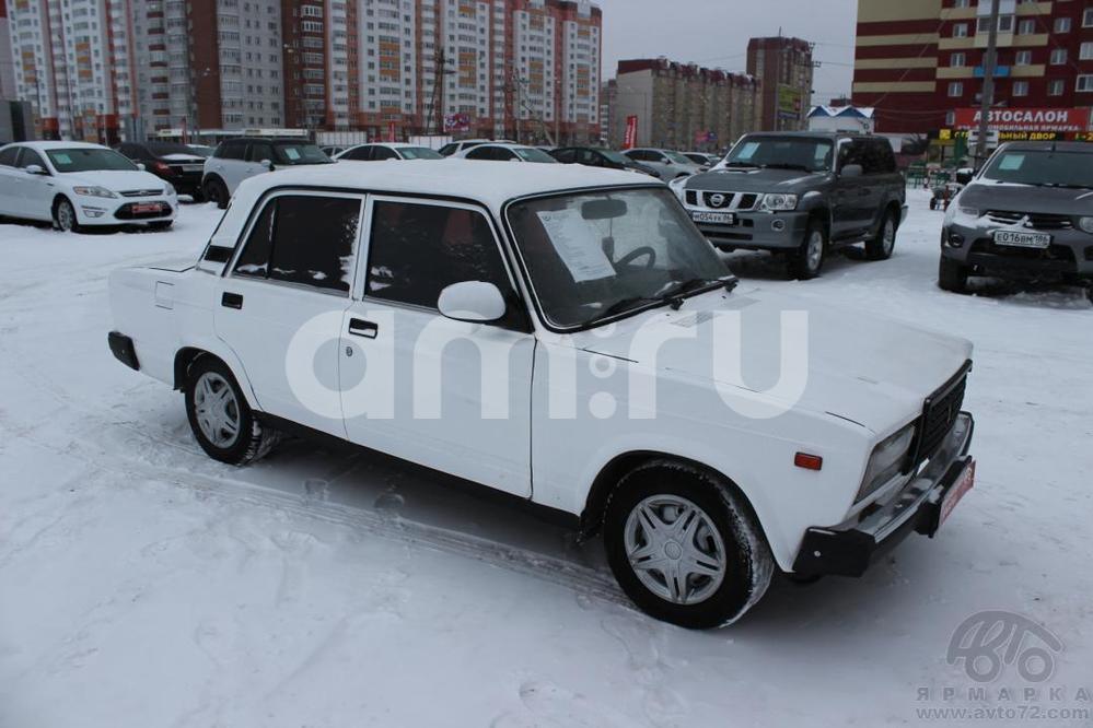ВАЗ (Lada) 2107 с пробегом, белый , хорошее состояние, 2009 года выпуска, цена 88 000 руб. в автосалоне Автомобильная Ярмарка (Тюмень, ул. Пермякова, д. 85)