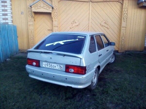 Подержанный ВАЗ (Lada) 2114, среднее состояние, серебряный , 2004 года выпуска, цена 55 000 руб. в республике Татарстане