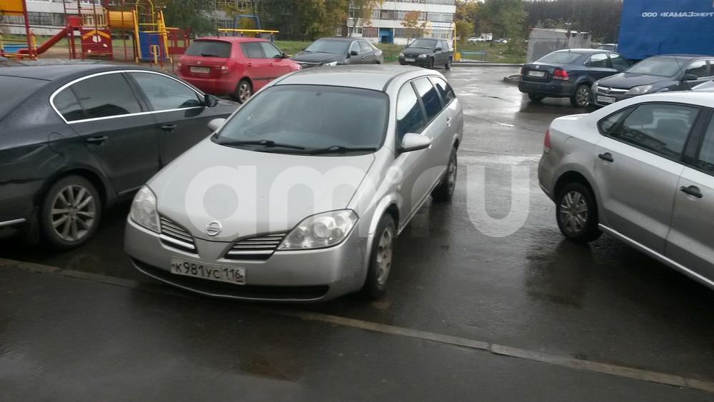 Подержанный Nissan Primera, отличное состояние, серебряный , 2001 года выпуска, цена 250 000 руб. в республике Татарстане