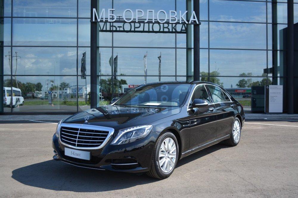 Новый авто Mercedes-Benz S-Класс, черный матовый, 2016 года выпуска, цена 6 587 900 руб. в автосалоне МБ-Орловка (Набережные Челны, тракт Мензелинский, д. 24)