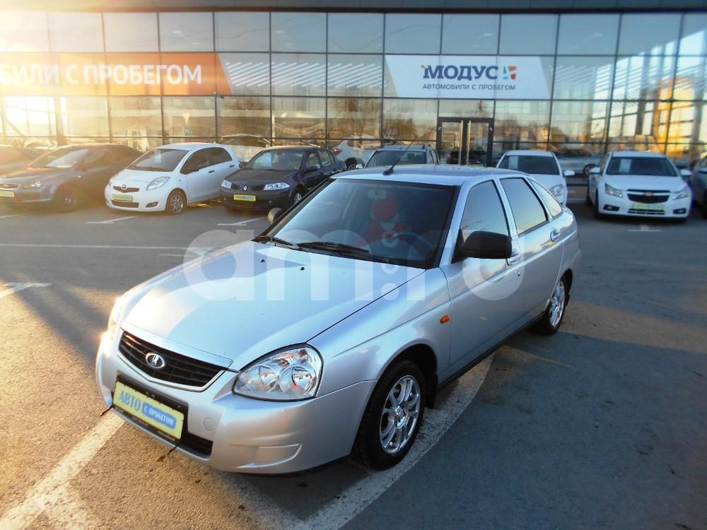 ВАЗ (Lada) Priora с пробегом, серебряный , отличное состояние, 2013 года выпуска, цена 330 000 руб. в автосалоне  ()