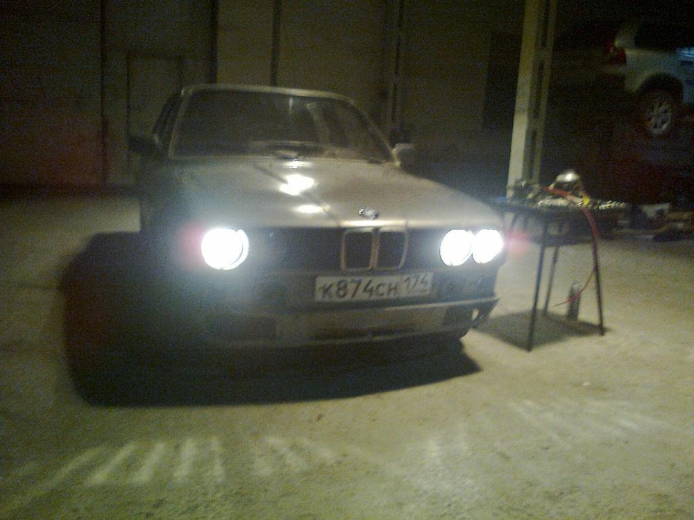 Подержанный BMW 3 серия, среднее состояние, черный , 1989 года выпуска, цена 80 000 руб. в Челябинской области