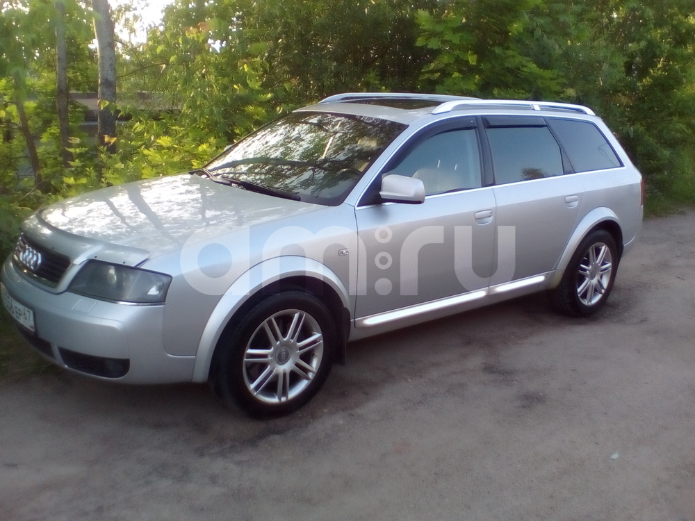 Подержанный Audi Allroad, хорошее состояние, серебряный металлик, 2004 года выпуска, цена 630 000 руб. в Смоленской области