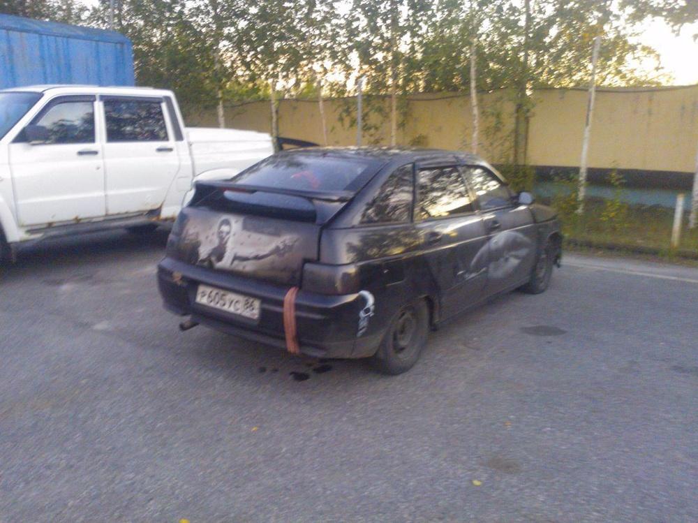 Подержанный ВАЗ (Lada) 2112, отличное состояние, черный , 2001 года выпуска, цена 45 000 руб. в ао. Ханты-Мансийском Автономном округе - Югре