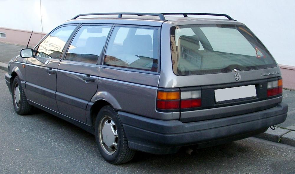Подержанный Volkswagen Passat, среднее состояние, серый , 1991 года выпуска, цена 75 000 руб. в Смоленской области