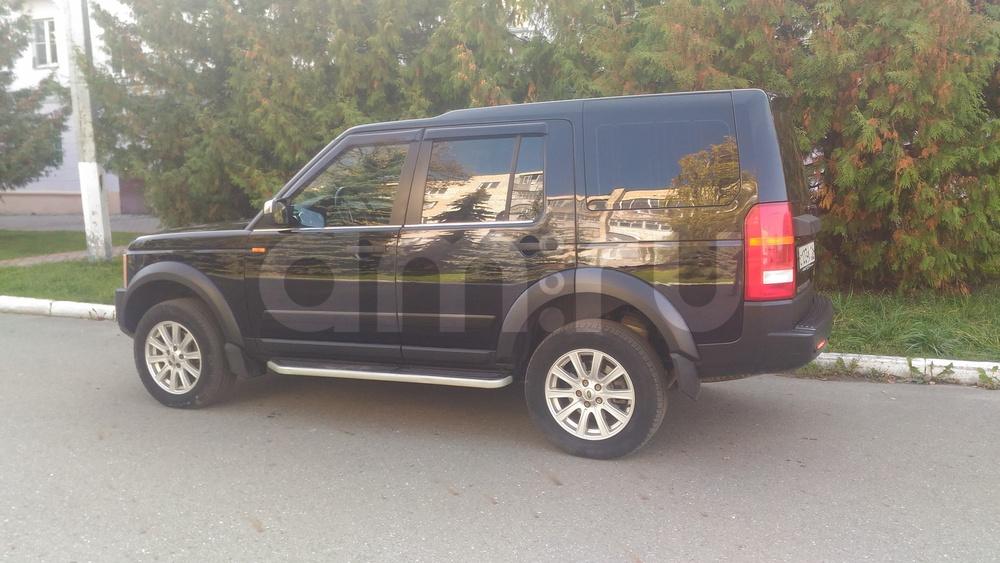 Подержанный Land Rover Discovery, отличное состояние, черный , 2008 года выпуска, цена 930 000 руб. в республике Татарстане