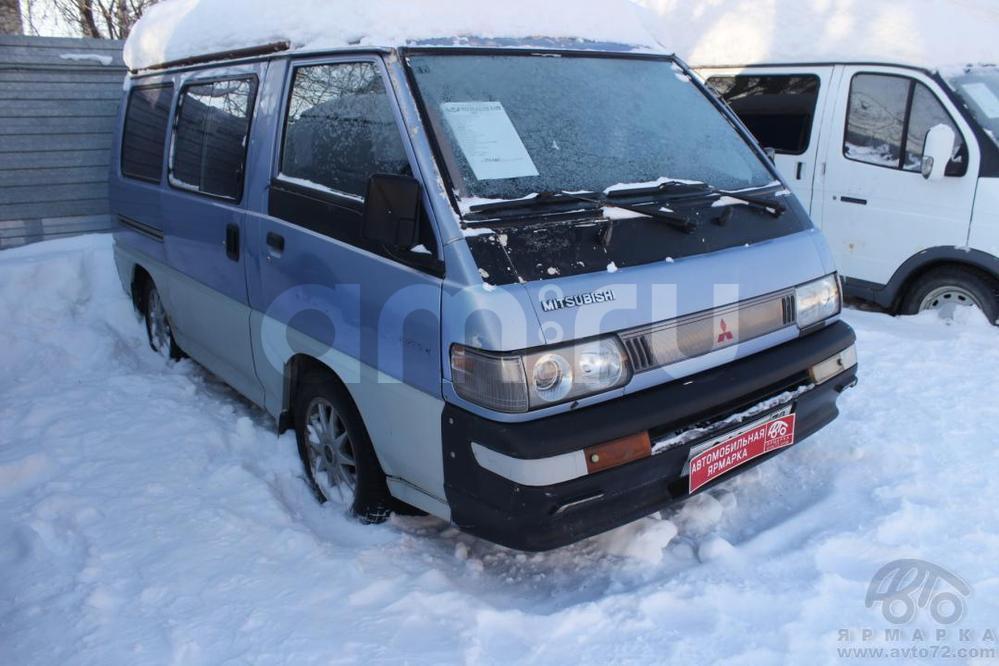Mitsubishi Delica с пробегом, синий , хорошее состояние, 1993 года выпуска, цена 116 000 руб. в автосалоне  ()