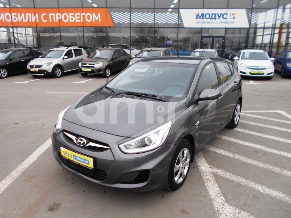 Hyundai Solaris с пробегом, серый металлик, отличное состояние, 2013 года выпуска, цена 475 000 руб. в автосалоне  ()