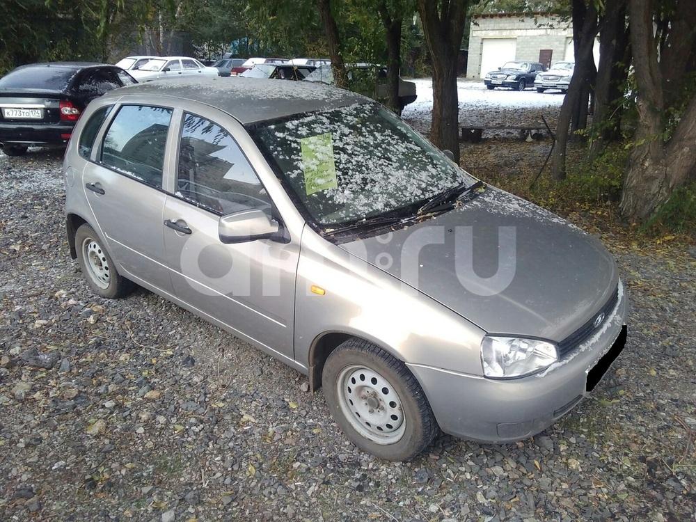 Подержанный ВАЗ (Lada) Kalina, отличное состояние, серебряный металлик, 2007 года выпуска, цена 160 000 руб. в Челябинской области