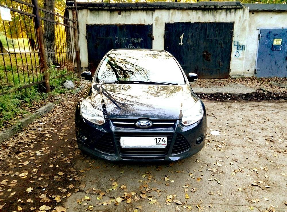 Подержанный Ford Focus, отличное состояние, серый , 2012 года выпуска, цена 700 000 руб. в Челябинской области