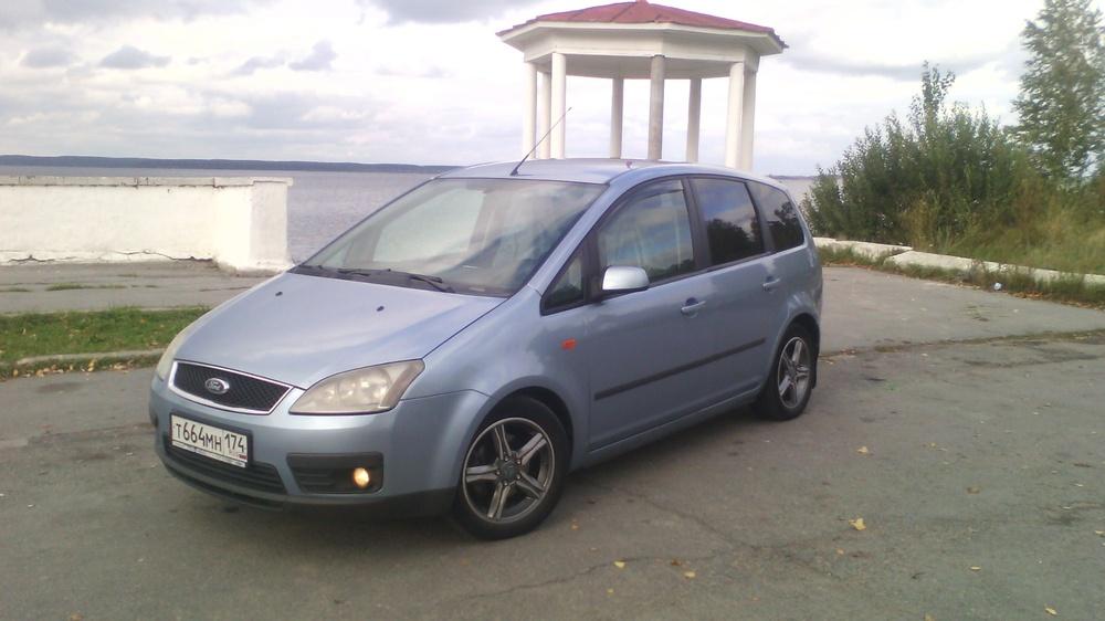 Подержанный Ford C-Max, отличное состояние, голубой , 2006 года выпуска, цена 290 000 руб. в Челябинской области
