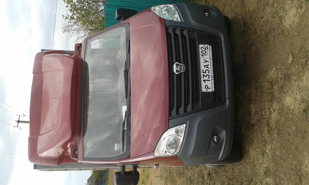 Подержанный ГАЗ Next, отличное состояние, бордовый , 2013 года выпуска, цена 720 000 руб. в республике Татарстане