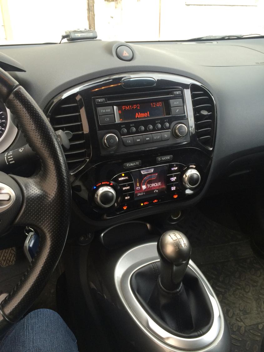 Подержанный Nissan Juke, отличное состояние, белый , 2013 года выпуска, цена 700 000 руб. в республике Татарстане