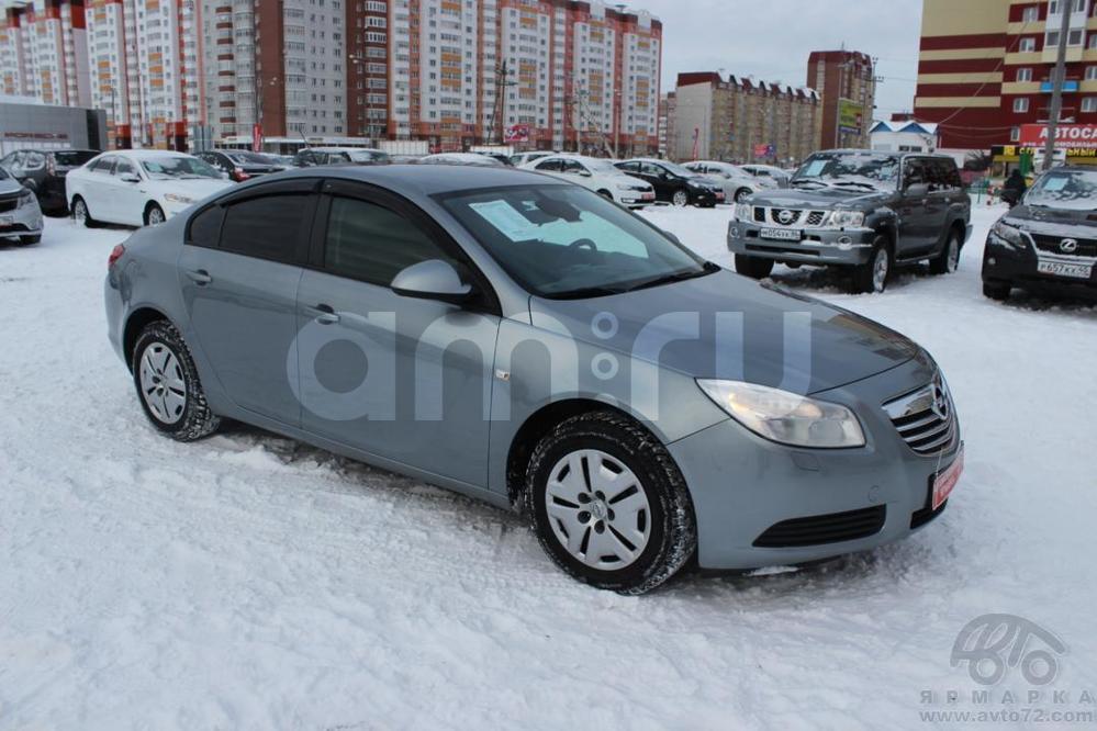 Opel Insignia с пробегом, серый , отличное состояние, 2013 года выпуска, цена 690 000 руб. в автосалоне Автомобильная Ярмарка (Тюмень, ул. Пермякова, д. 85)