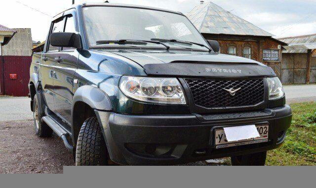 Подержанный УАЗ Patriot, отличное состояние, зеленый , 2009 года выпуска, цена 365 000 руб. в Челябинской области