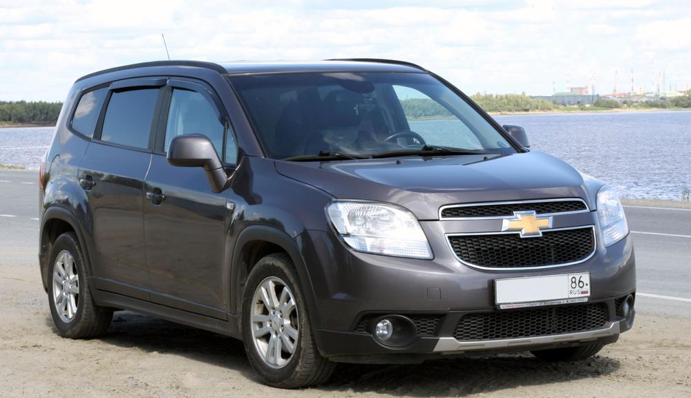 Подержанный Chevrolet Orlando, отличное состояние, серый , 2012 года выпуска, цена 760 000 руб. в ао. Ханты-Мансийском Автономном округе - Югре