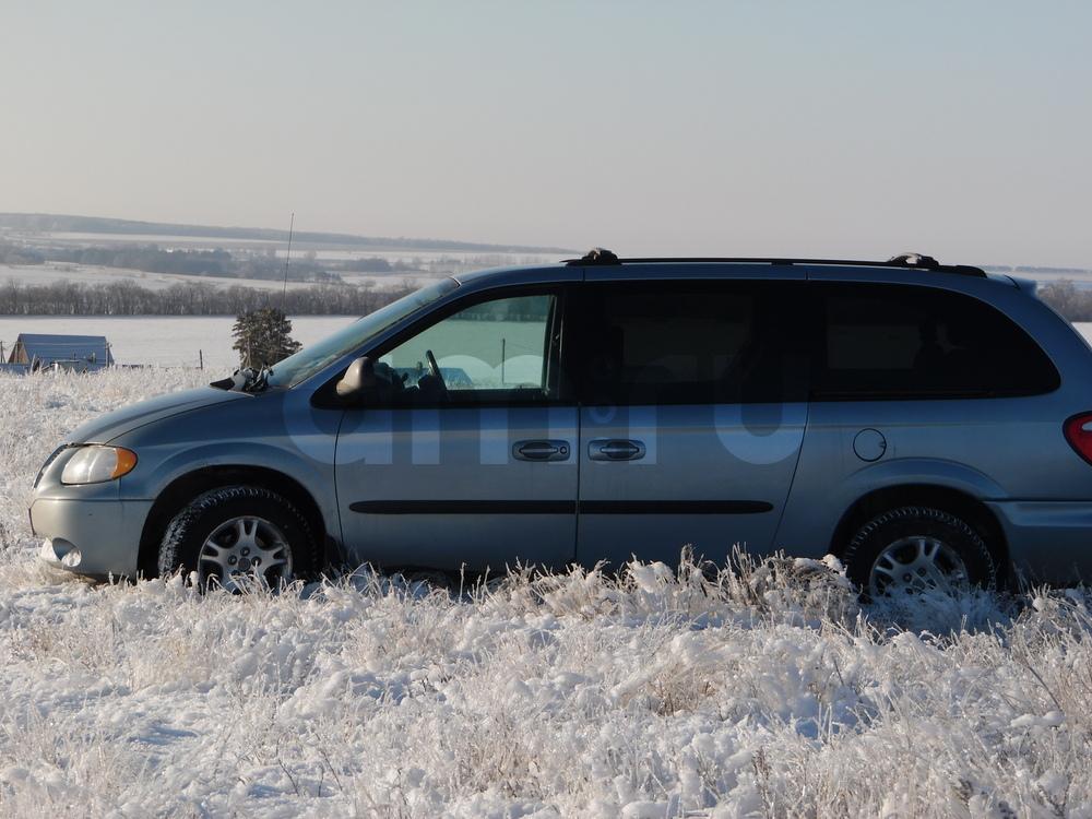Подержанный Dodge Caravan, отличное состояние, голубой металлик, 2003 года выпуска, цена 395 000 руб. в республике Татарстане