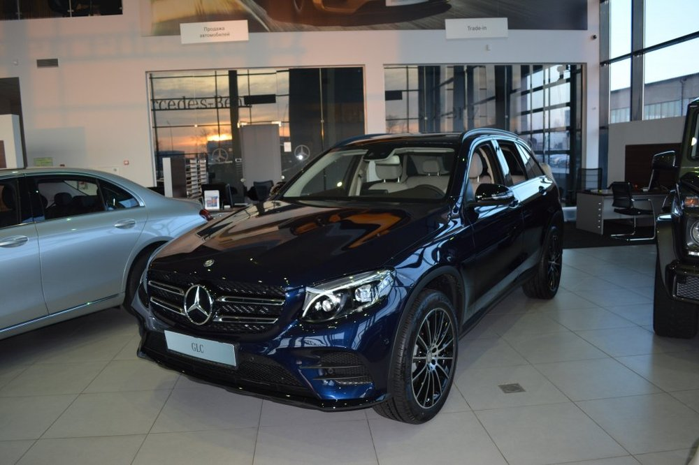 Новый авто Mercedes-Benz GLC-Класс, синий металлик, 2016 года выпуска, цена 3 834 000 руб. в автосалоне МБ-Орловка (Набережные Челны, тракт Мензелинский, д. 24)
