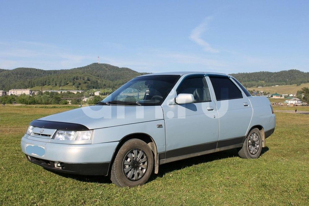 Подержанный ВАЗ (Lada) 2110, хорошее состояние, серебряный металлик, 2005 года выпуска, цена 100 000 руб. в Челябинской области
