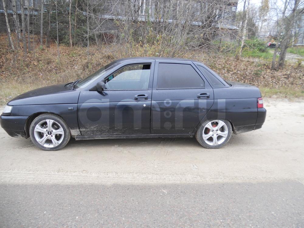 Подержанный ВАЗ (Lada) 2110, хорошее состояние, черный , 2005 года выпуска, цена 105 000 руб. в ао. Ханты-Мансийском Автономном округе - Югре