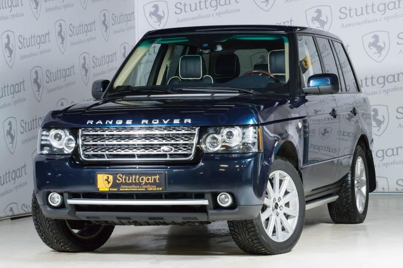 Land Rover Range Rover с пробегом, синий , отличное состояние, 2012 года выпуска, цена 2 090 000 руб. в автосалоне  ()