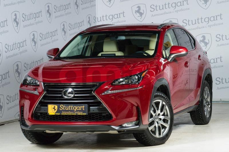 Lexus NX с пробегом, красный , отличное состояние, 2016 года выпуска, цена 2 200 000 руб. в автосалоне  ()