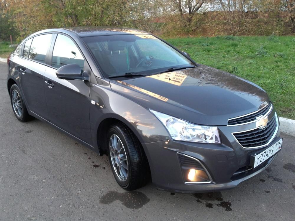 Подержанный Chevrolet Cruze, отличное состояние, коричневый , 2013 года выпуска, цена 515 000 руб. в республике Татарстане