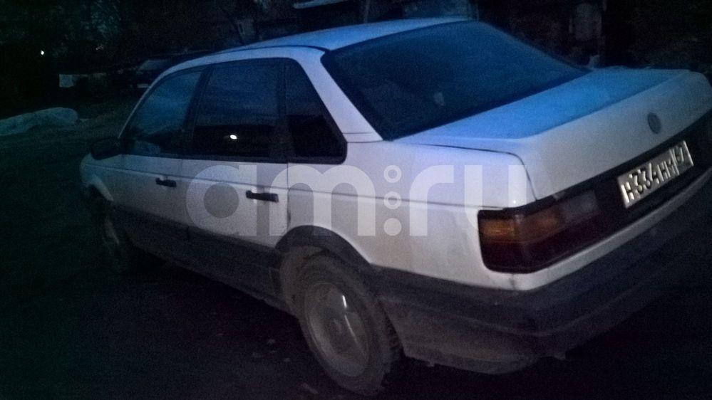 Подержанный Volkswagen Passat, отличное состояние, белый , 1990 года выпуска, цена 80 000 руб. в Смоленской области