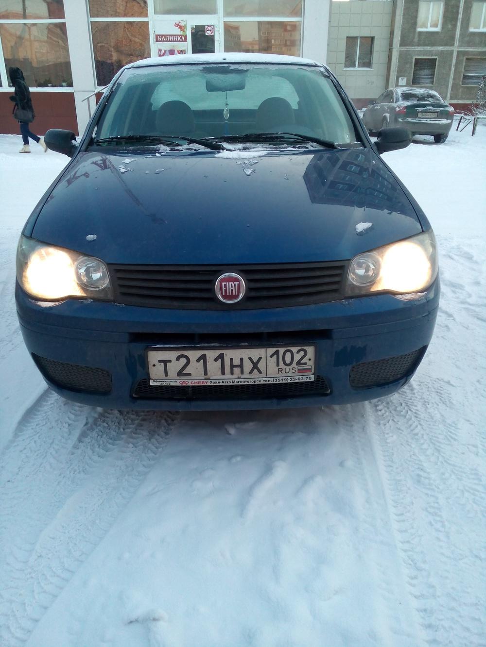 Подержанный Fiat Albea, отличное состояние, синий , 2011 года выпуска, цена 255 000 руб. в Челябинской области