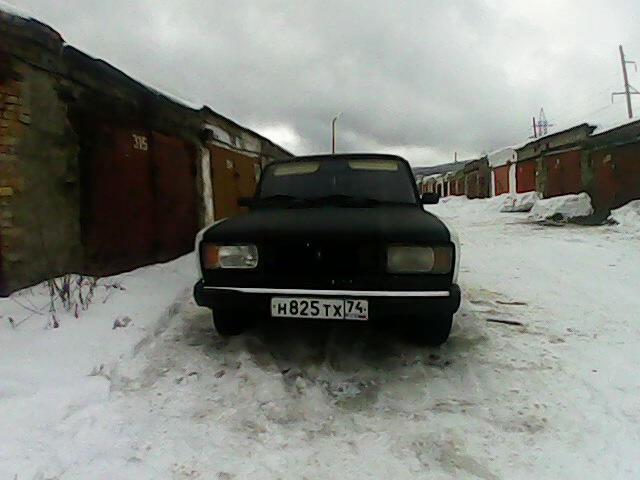 Подержанный ВАЗ (Lada) 2105, хорошее состояние, белый , 1995 года выпуска, цена 22 000 руб. в Челябинской области