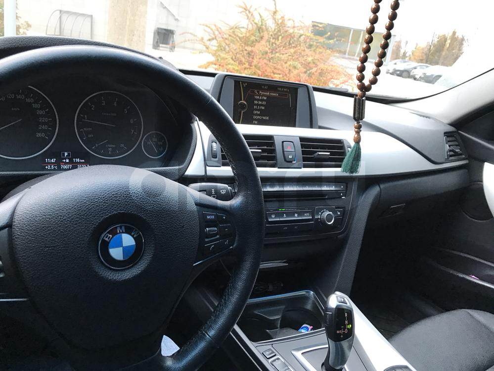 Подержанный BMW 3 серия, отличное состояние, черный металлик, 2013 года выпуска, цена 1 070 000 руб. в республике Татарстане