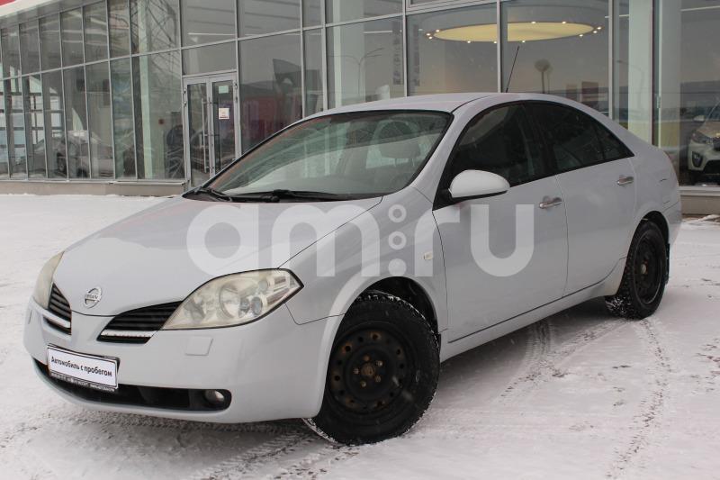 Nissan Primera с пробегом, серебряный , отличное состояние, 2007 года выпуска, цена 329 000 руб. в автосалоне Автобан-Запад (Екатеринбург, ул. Металлургов, д. 67)