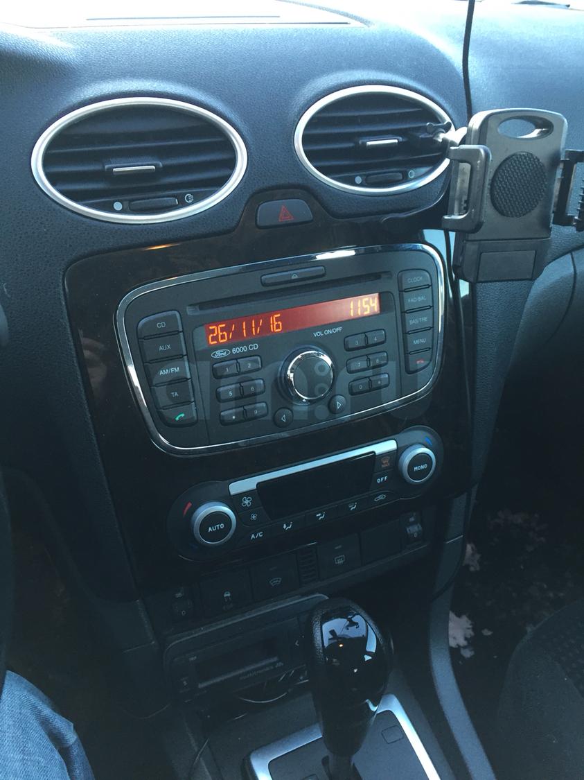 Подержанный Ford Focus, хорошее состояние, черный , 2007 года выпуска, цена 380 000 руб. в ао. Ханты-Мансийском Автономном округе - Югре