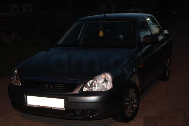 Подержанный ВАЗ (Lada) Priora, отличное состояние, серый металлик, 2011 года выпуска, цена 230 000 руб. в республике Татарстане