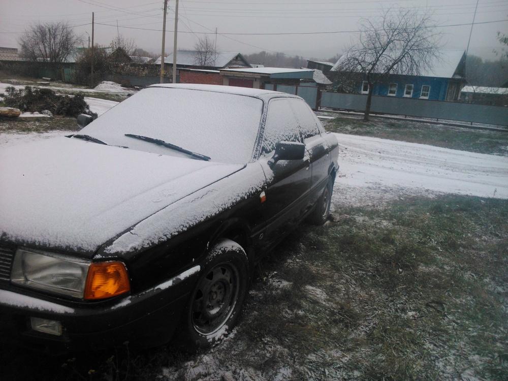 Подержанный Audi 80, среднее состояние, черный , 1991 года выпуска, цена 35 000 руб. в республике Татарстане